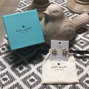 Kate Spade Sunset Bloom Earrings - NWT, Bag & Box!